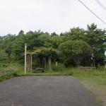 六郎次山山頂展望台の駐車場の画像