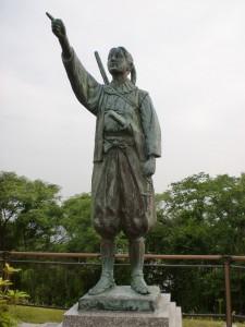天草キリシタン館の天草四郎像の画像