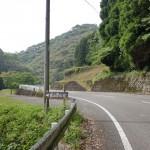 福連木側の角山登山口の入口の画像