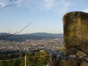 岩屋山(岩屋城跡)山頂の画像