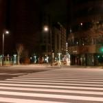 2013年2月某日早朝の博多駅前の画像