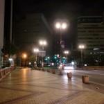2013年2月某日早朝の明治通りの画像