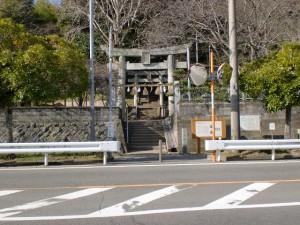 熊野神社参道入口(今山遺跡)の画像