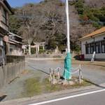 浜崎山麓の熊野神社の画像