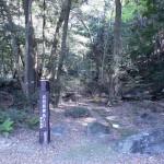 丸尾自然探勝路の入口(硫黄谷側)の画像