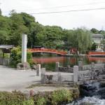 富士山麓の湧玉池の画像