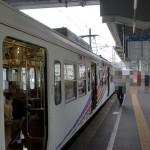 松本駅7番線のりばの画像