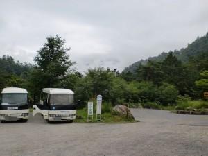 中房温泉バス停の画像