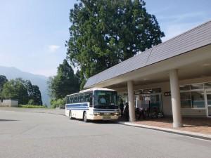 立山黒部貫光のケーブルカー立山駅バス停の画像