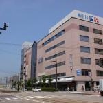 電鉄富山駅の駅ビルとなっているMARIERの画像