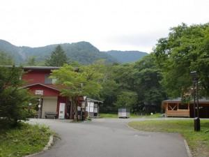平湯キャンプ場の画像