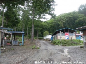 大滝キャンプ場(プール平)