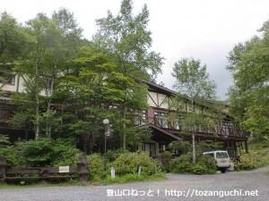 唐沢鉱泉の山荘
