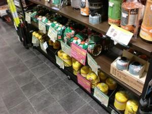 IBS石井スポーツ大阪本店のガス缶売場の画像