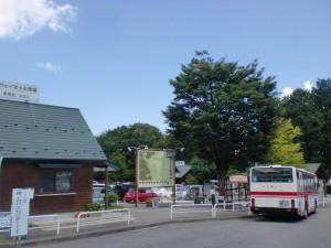 菅の台バスセンター(アップ)