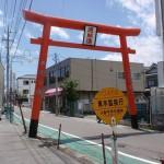 JR中央線韮崎駅バス停(山梨中央交通・鳳凰三山登山バス)