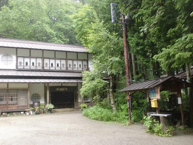 青木鉱泉の山荘