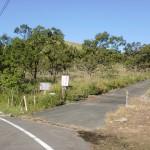 涌蓋山(一目山・みそこぶしやま)登山口の画像