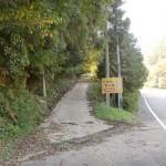 千燈岳登山口(赤根登山口)の画像