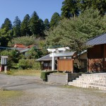 大野老松天満社(前津江町・日田市)の画像