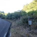 万年山登山口(駐車スペースのある登山口)の画像
