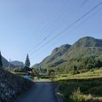 万年山登山道の入口付近(黒猪鹿地区)の画像