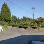 黒猪鹿地区改善センター前の3差路の画像