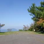 宇曽嶽神社山頂直下の駐車場