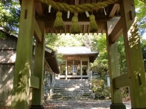 宇曽嶽神社本殿(宇曽山山頂)の画像