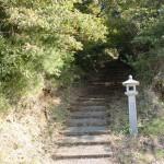 宇曽嶽神社参道入口の画像
