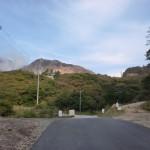 伽藍岳(硫黄岳)登山口と塚原温泉への分岐の画像