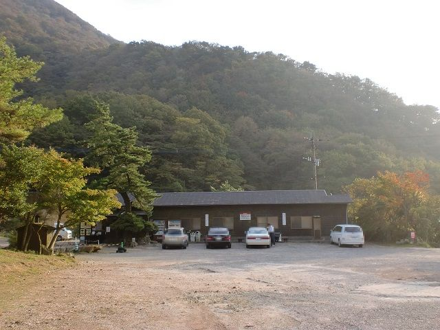 伽藍岳の登山口 塚原温泉にバスでアクセスする方法