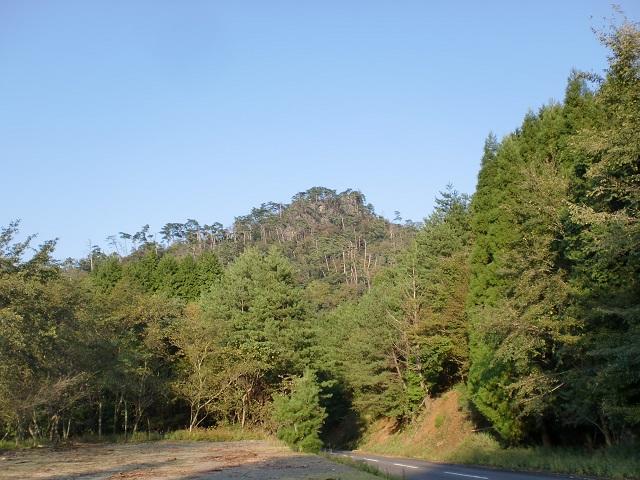 小表山・鷹巣岳の登山口(宇目小国大規模林道)へのアクセス