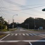 ととろ入口の交差点(国道326号線)の画像