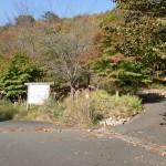 天神原山・女郎の墓への林道分岐地点の画像