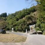 尺間神社第一駐車場(尺間神社100段まわり登山口)の画像