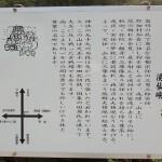 熊群神社の案内板(大分県由布市)の画像