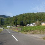 中中村バス停(由布市コミュニティバス阿蘇野コース)の画像
