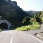 直入庄内区域農道の永慶寺トンネルから冠山登山口に入る林道の入口の画像