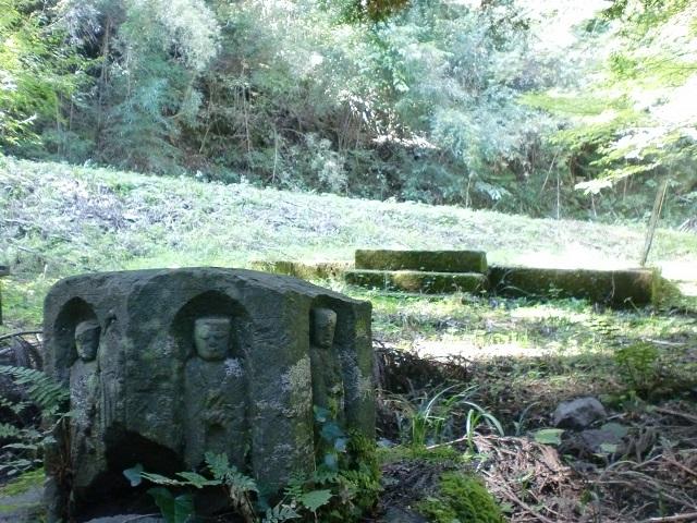 冠山・永慶寺山・剣龍山の登山口 旧永慶寺跡にアクセスする方法