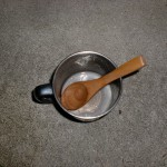 残飯青汁調理中2の画像