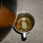 残飯青汁調理中4の画像