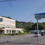 濃霞山公園への入口の画像