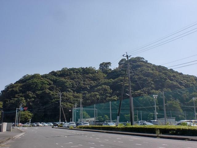 濃霞山公園(佐伯市)の登り口にアクセスする方法