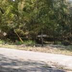 大河内地区からの林道と県道31号線からの林道が交わるT字路地点の画像