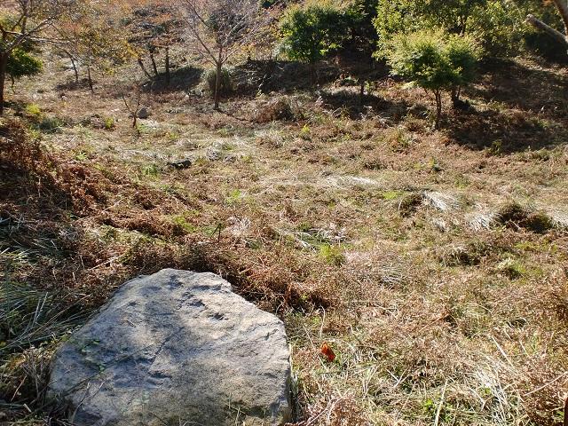 鷲巣岳の鬼籠列石(環状列石)の画像