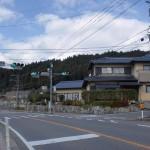三瀬保育園前の信号の画像