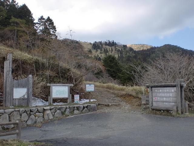 天山の岸川登山口と9合目駐車場にアクセスする方法