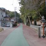 飯盛山登山道入口の画像