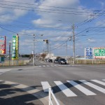 飯盛交差点の画像